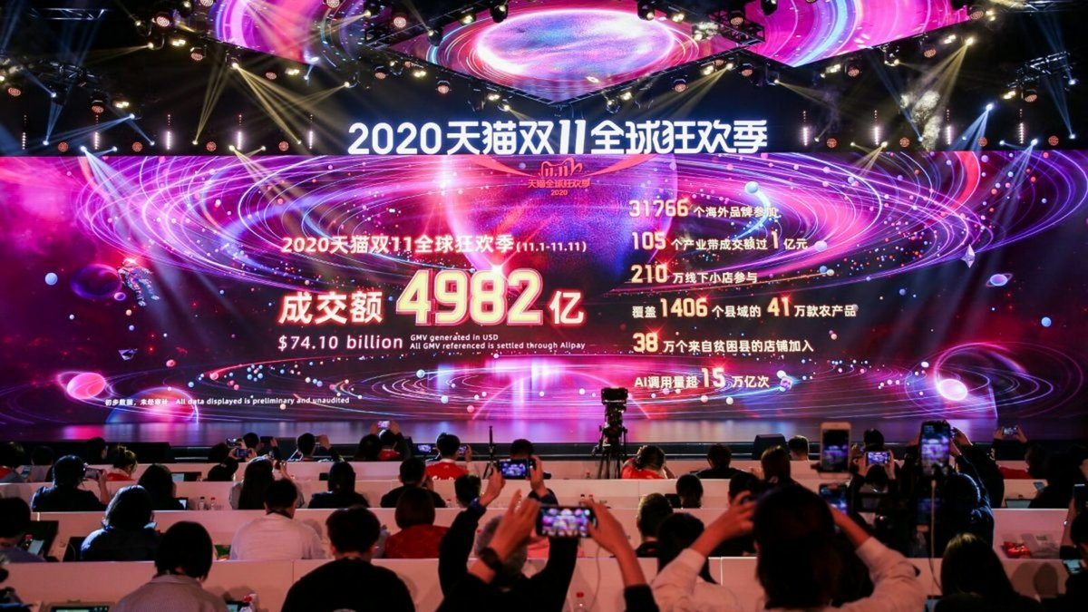 Alibaba Single Day 2020 © Alibaba