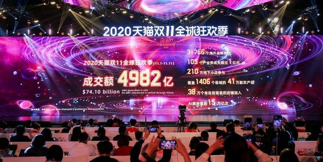 Single Day : une fois encore, Alibaba explose son record de recettes !