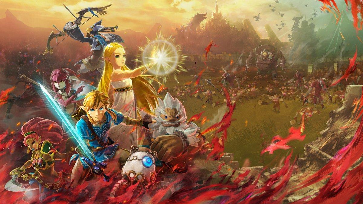 Hyrule Warriors l'ère du fléau artwork