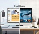 Samsung annonce Smart Monitor, à mi-chemin entre l'écran PC et la Smart TV