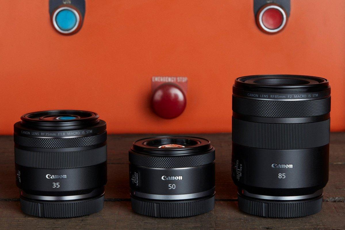 Canon focales fixes © Canon