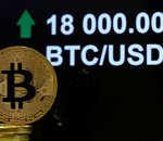 Le prix du Bitcoin (BTC) dépasse les 18000 dollars pour la première fois depuis trois ans