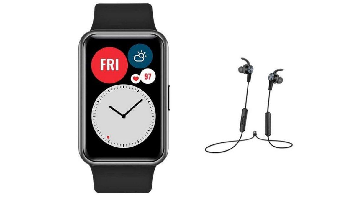 Pack Huawei Watch Fit avec écouteurs