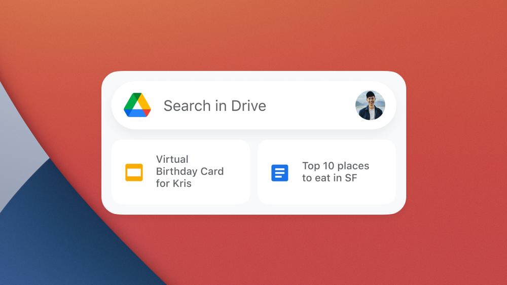 Google Drive WIdget