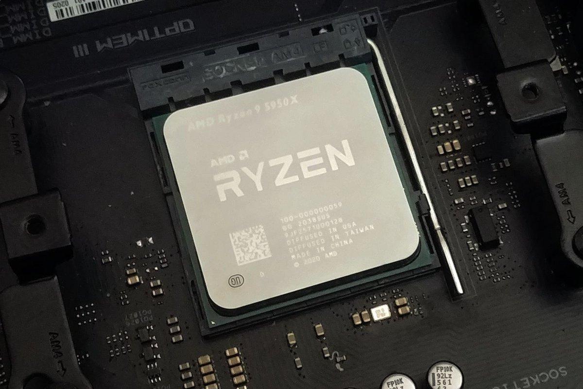 AMD Ryzen 9 5950X © Nerces