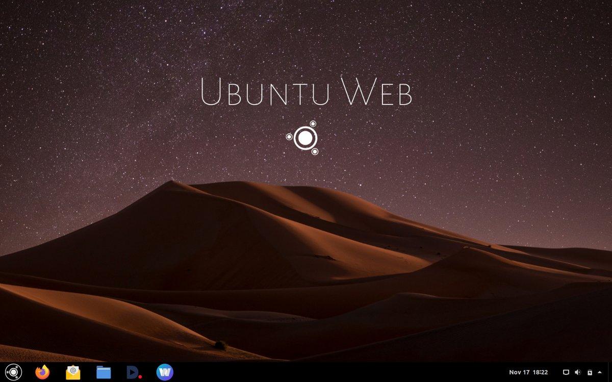 ubuntu Web remix