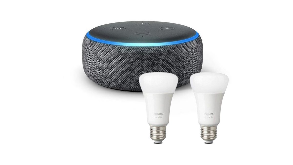 Echo Dot Philips Hue bp