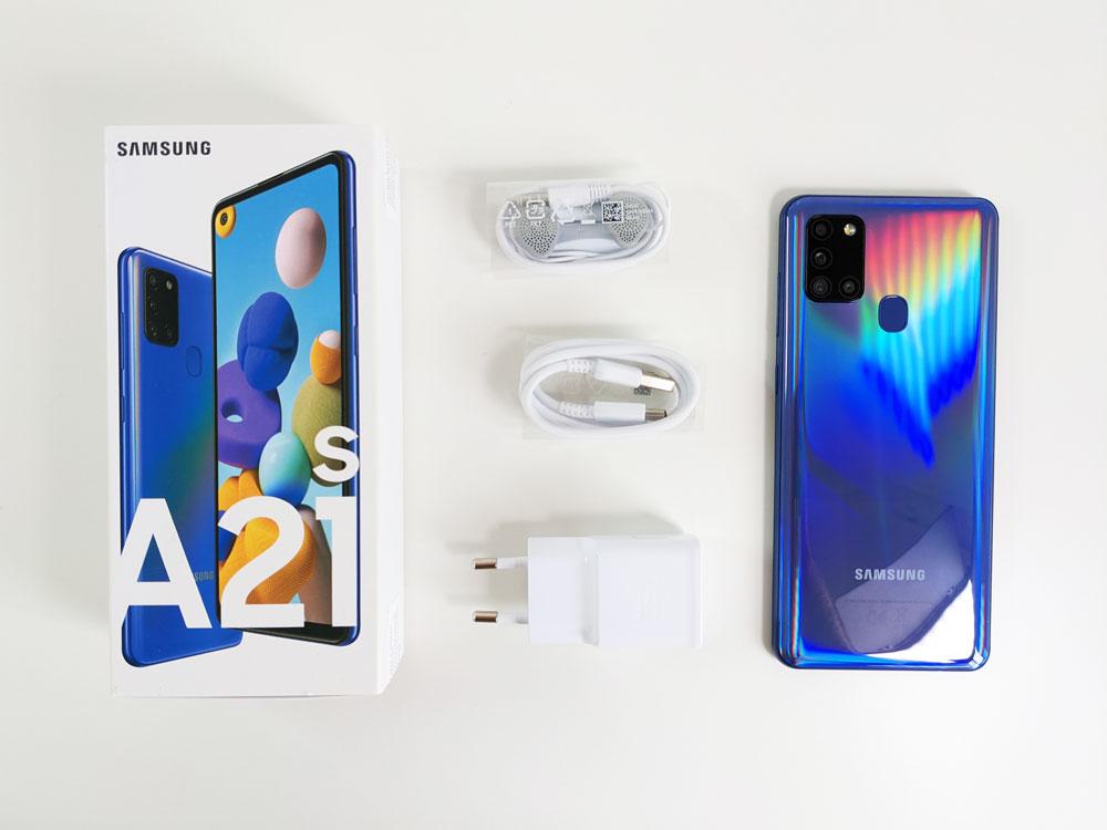 Boite Samsung Galaxy A21s