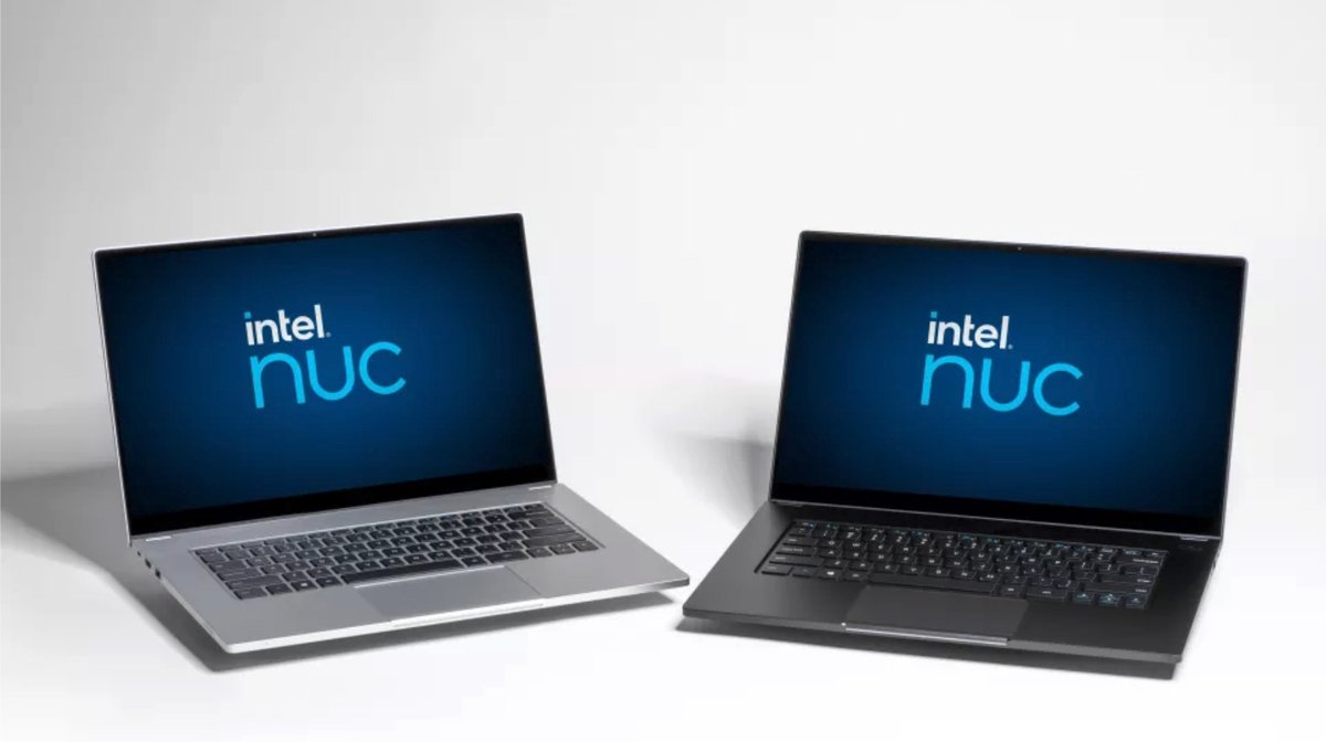 Intel NUC Laptop_1 © © Intel