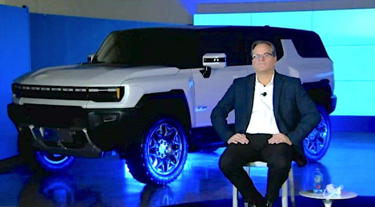 Hummer EV (SUV) © Video General Motors