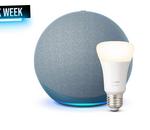Maison connectée : Amazon Echo 4e gen + 1 ampoule Philips Hue en promo