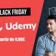 Black Friday Udemy : profitez du catalogue de formation à partir de 9,99€