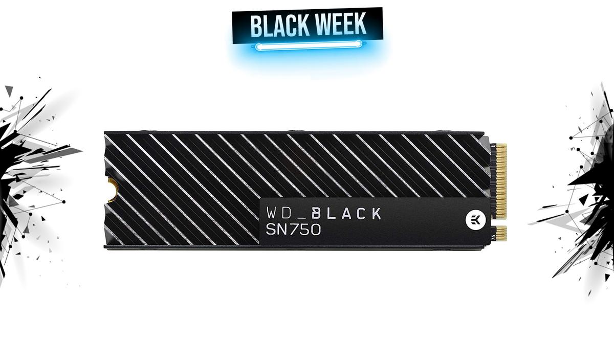 ssd wd black 2to black week