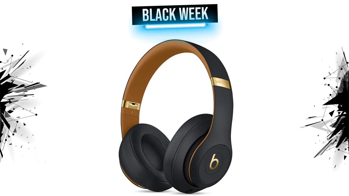 beats studio 3 black week