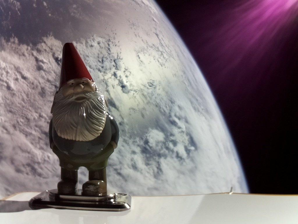 rocketlab nain de jardin Chompski orbite © RocketLab