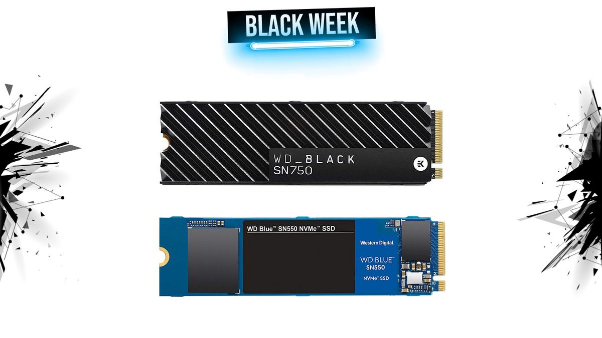 ssd wd black week