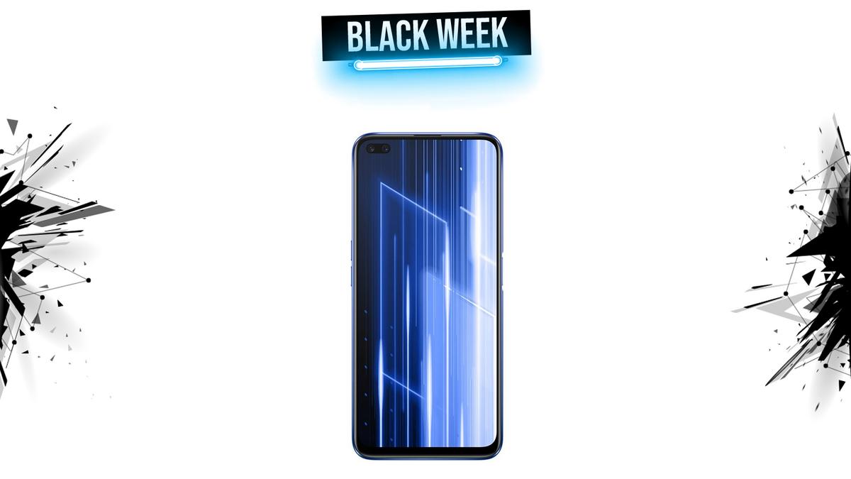 realme x50 black week