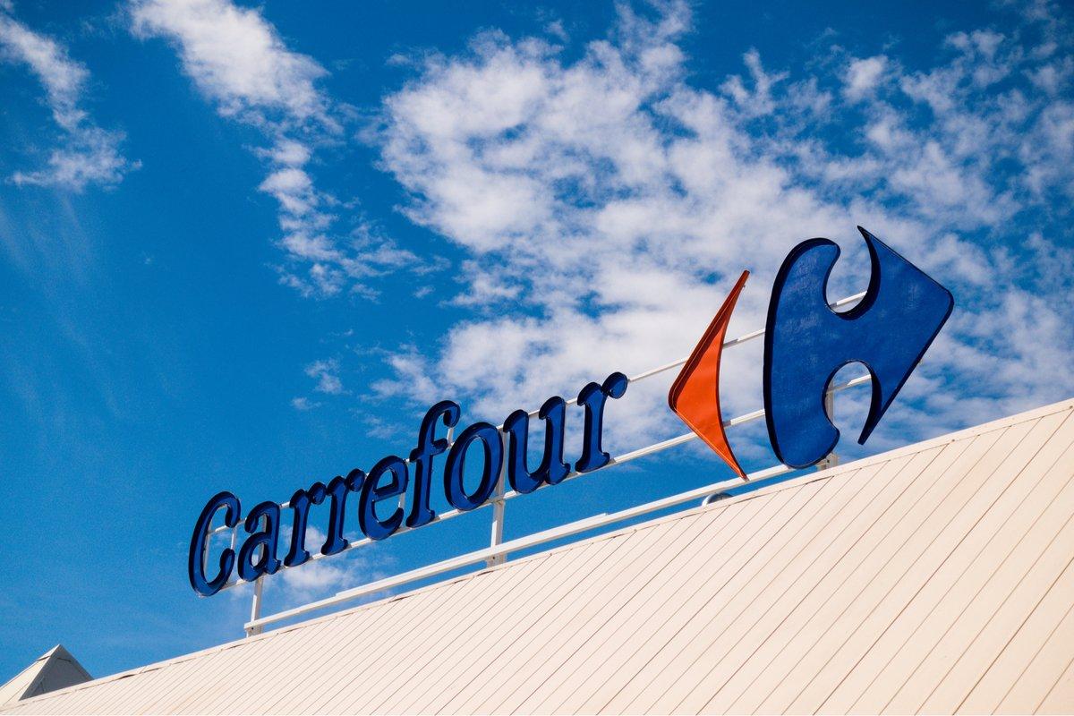 Carrefour enseigne © © Veja / Shutterstock.com