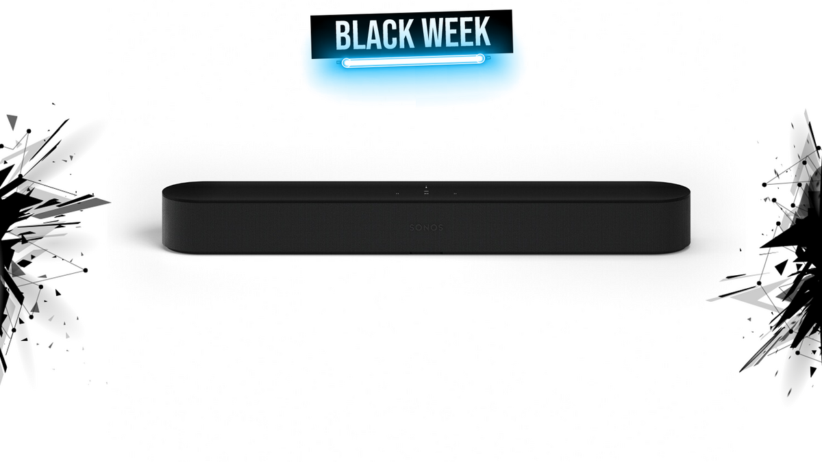 sonos beam black week