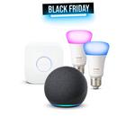 Economisez près de la moitié du prix sur ce pack Echo Dot 4 + Philips Hue sur Amazon