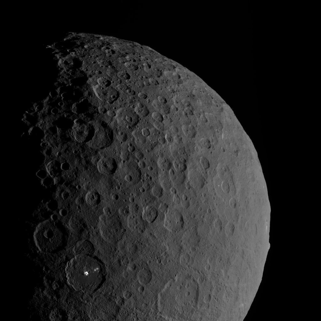 Ceres planète naine © NASA/JPL-Caltech