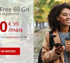 Free lance son Black Friday avec une nouvelle offre choc 60 Go à 10,99€/mois