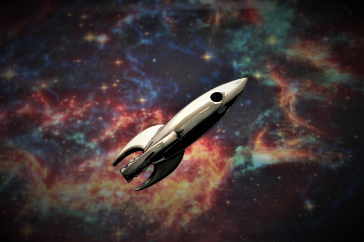 Mars Rocket sans chaine © Ruidoso Metal Works