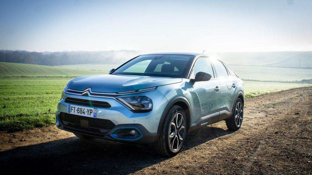 Citroën e-C4 © David Nogueira