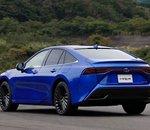 Près de 650 km d'autonomie pour la Toyota Mirai à hydrogène nouvelle génération