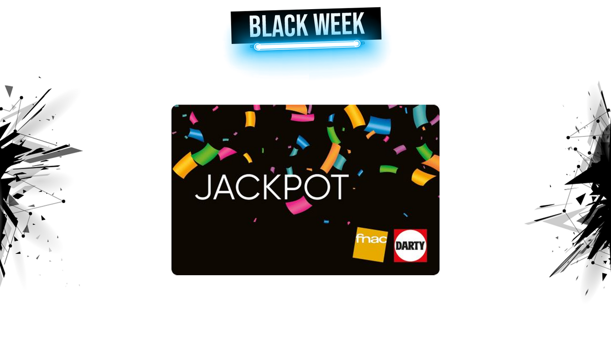 fnac darty jackpot black week