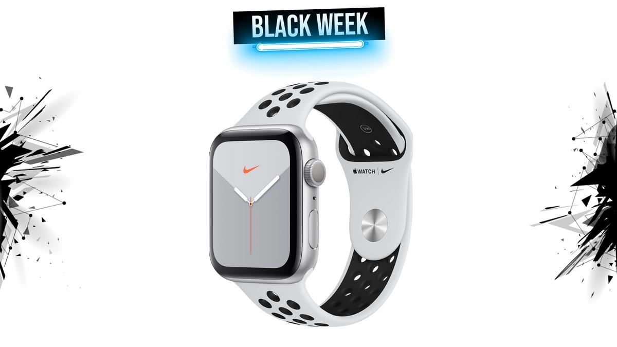 apple watch nike black week