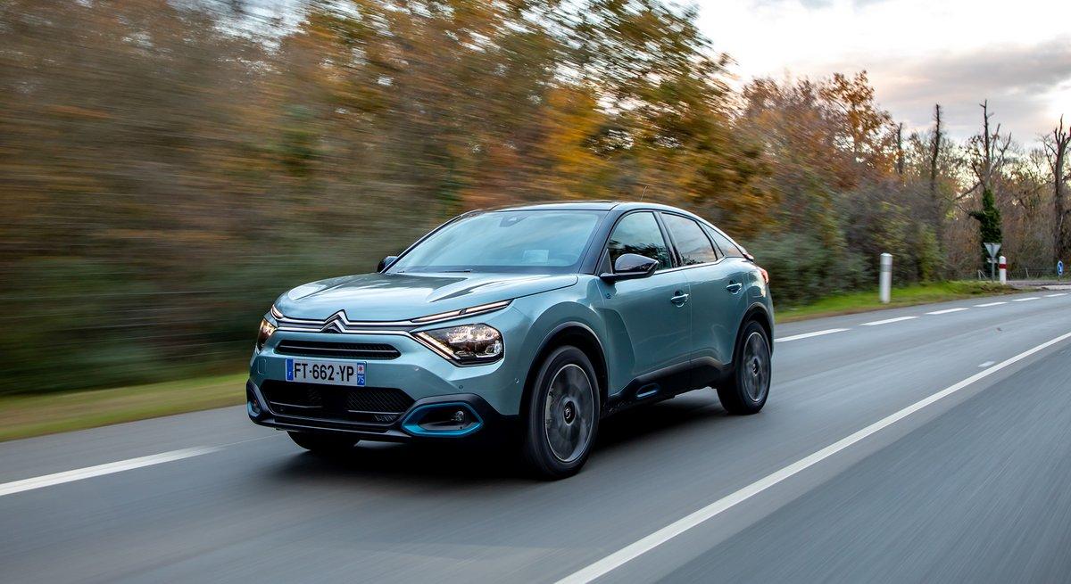 Citroën e-C4 © Citroën