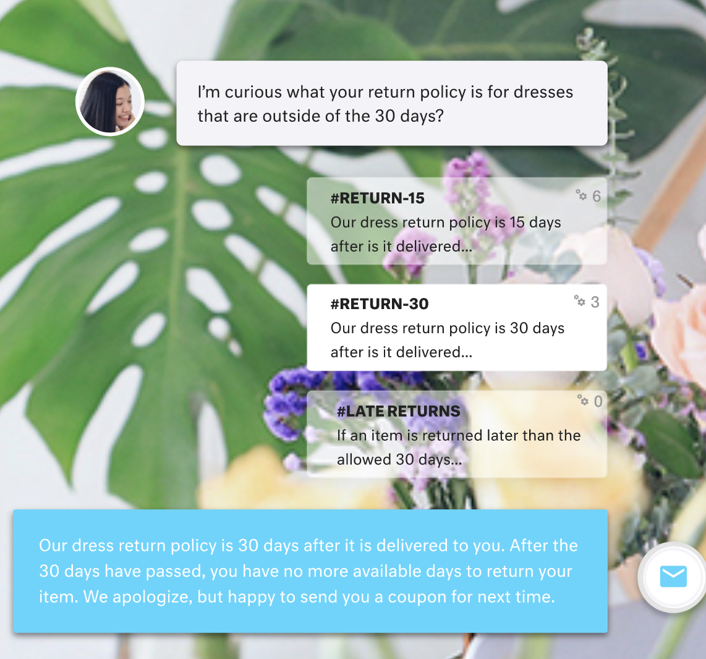 Kustomer chatbot