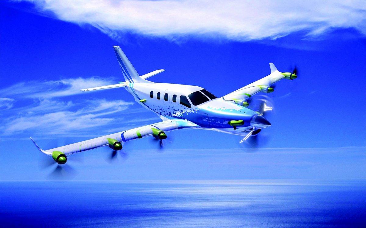 EcoPulse avion hybride © Daher