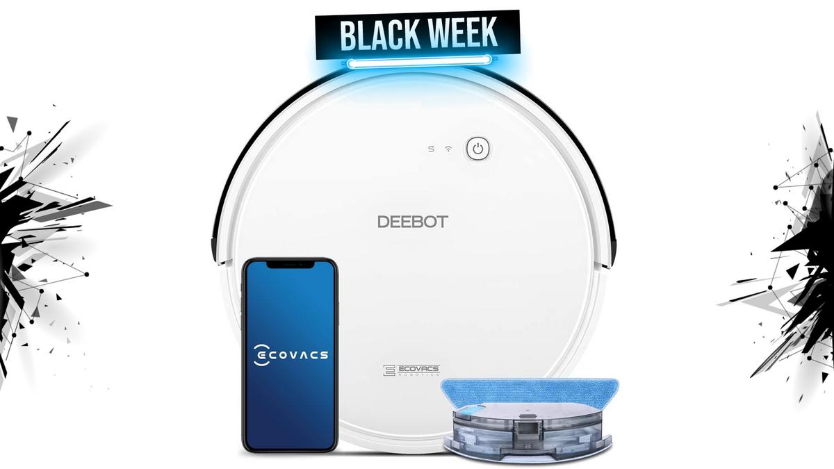 deebot 605 black week 1600