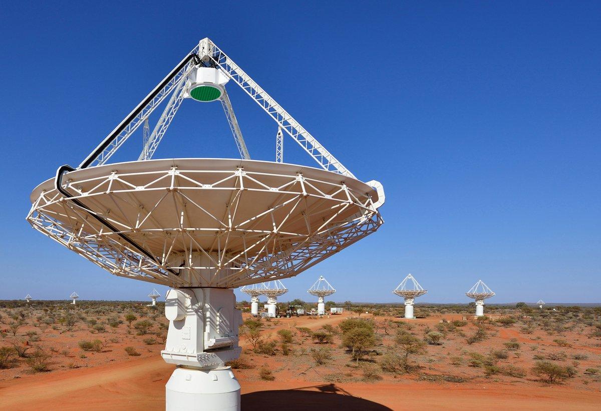 Télescope ASKAP © CSIRO