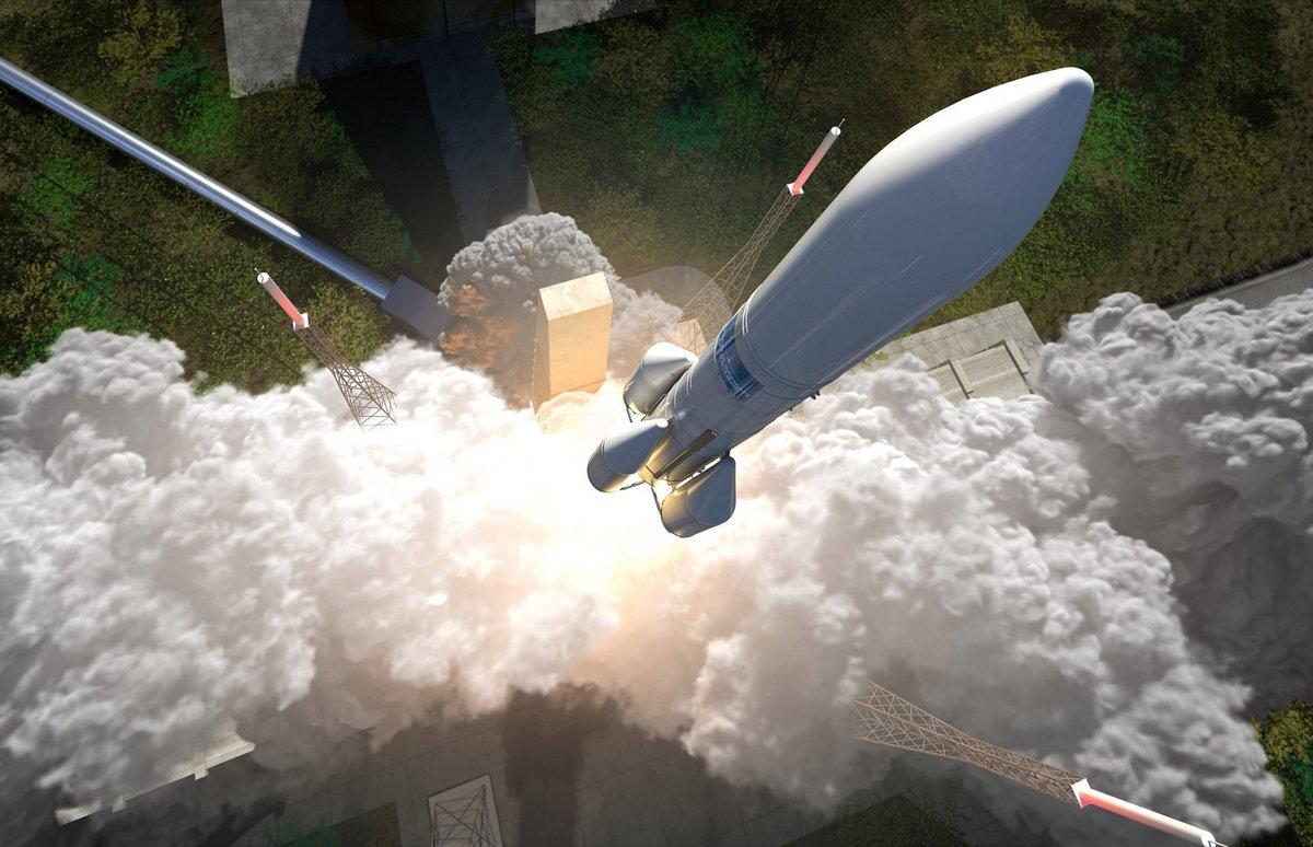 Ariane 6 au décollage © Airbus