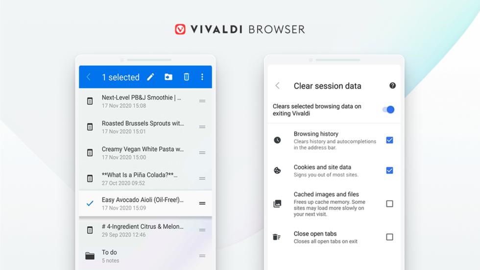 Vivaldi 3.5 Android © Vivaldi