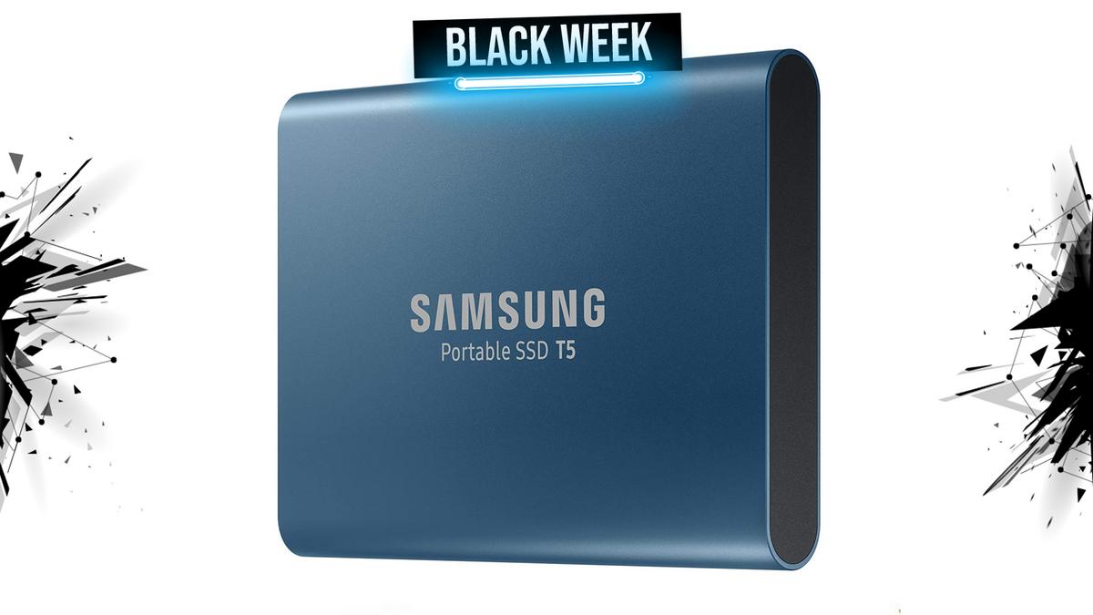 samsung t5 ssd black week 1600