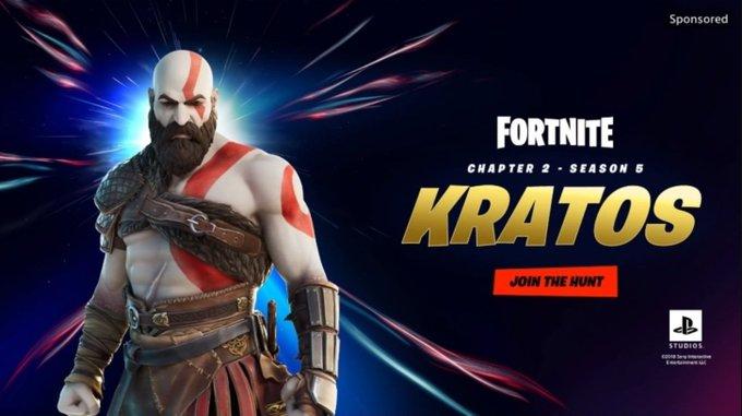 Fortnite Kratos © Sony
