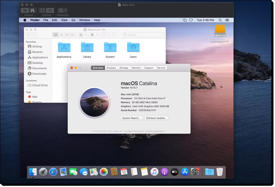 AWS mac mini