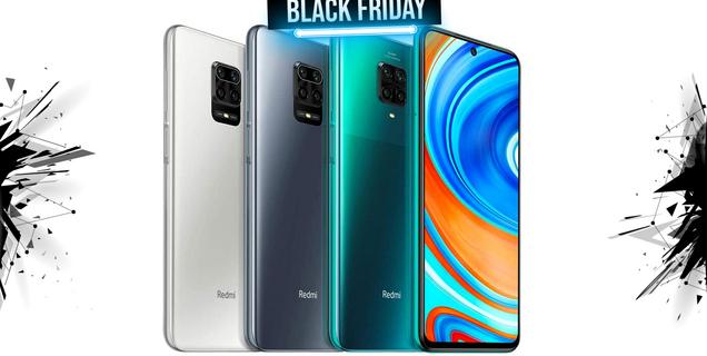 Black Friday : Le smartphone Xiaomi Redmi Note 9 Pro au meilleur prix jamais vu
