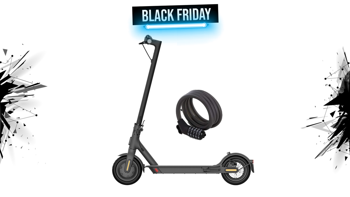 xiaomi electric scooter black friday 1600