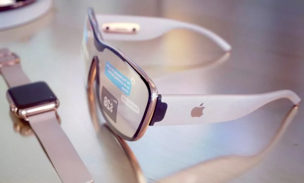 Apple AR lunettes © © idropnews / Martin Hajek