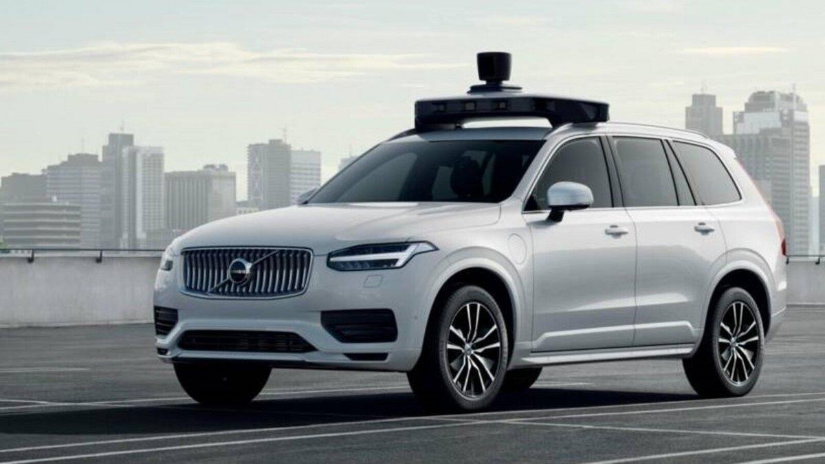 Uber autonome Volvo © Uber