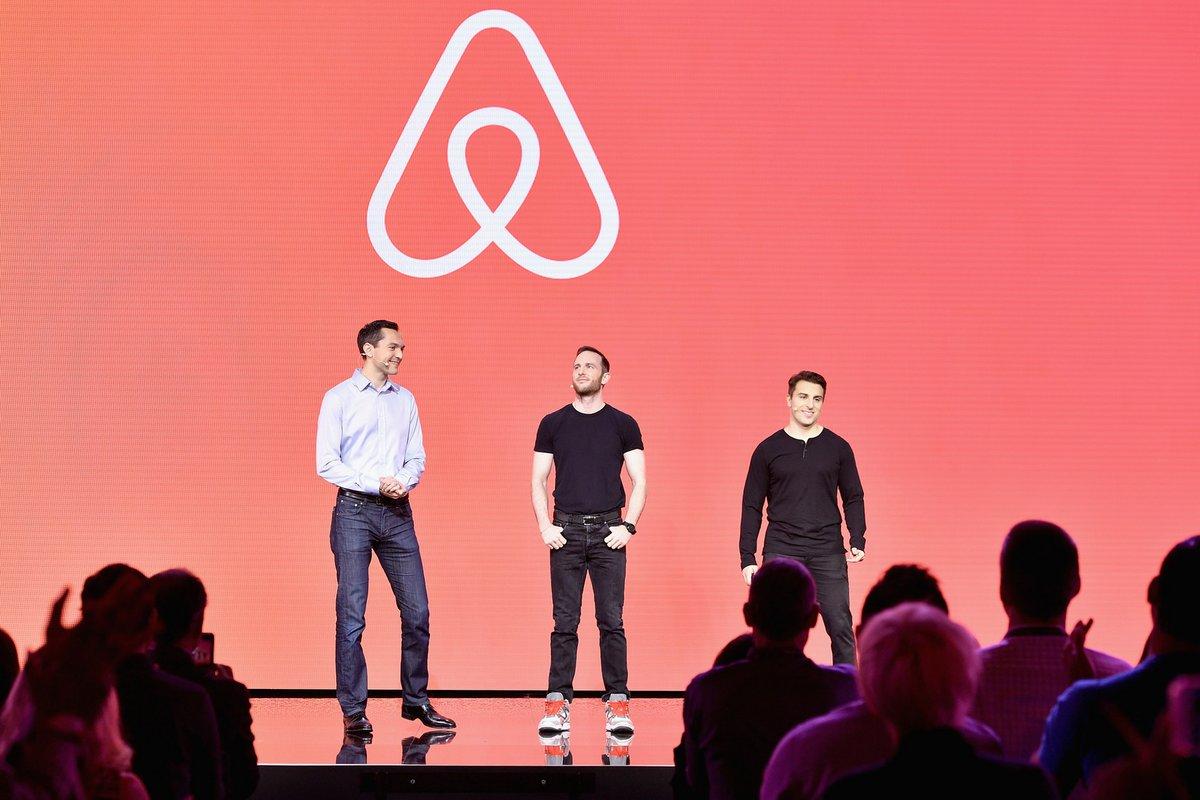 Airbnb co-fondateurs © Airbnb/Adam Planas