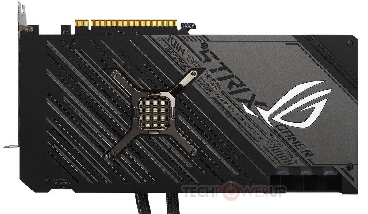 Asus ROG Strix LC Radeon RX 6900 XT © TechPowerUp