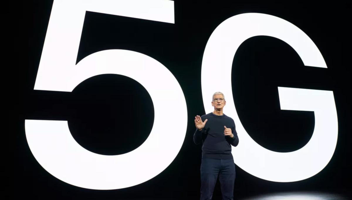 Apple puce 5G