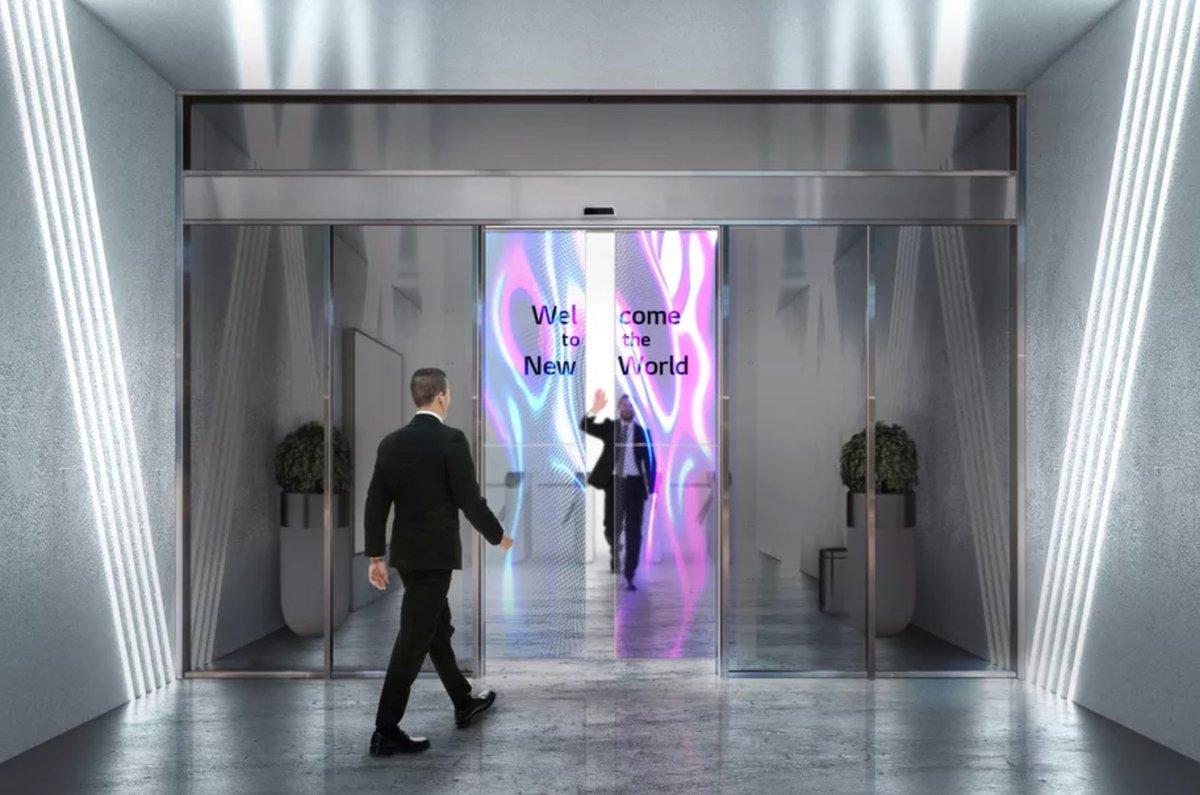 OLED portes © © LG