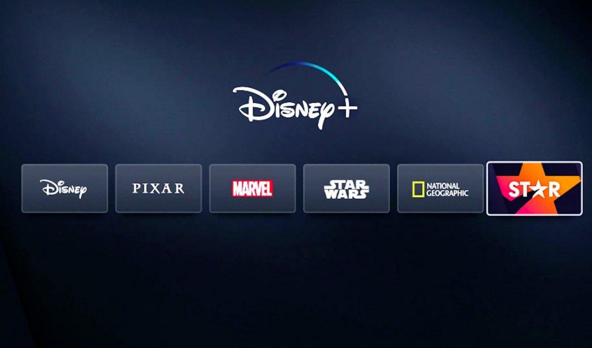 Disney+ Star © Capture d'écran